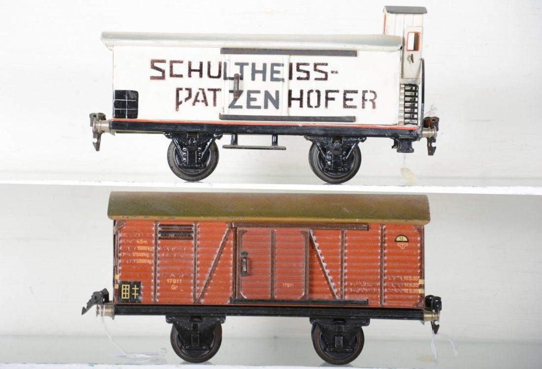 2 Clean Marklin 25cm Freight  Cars