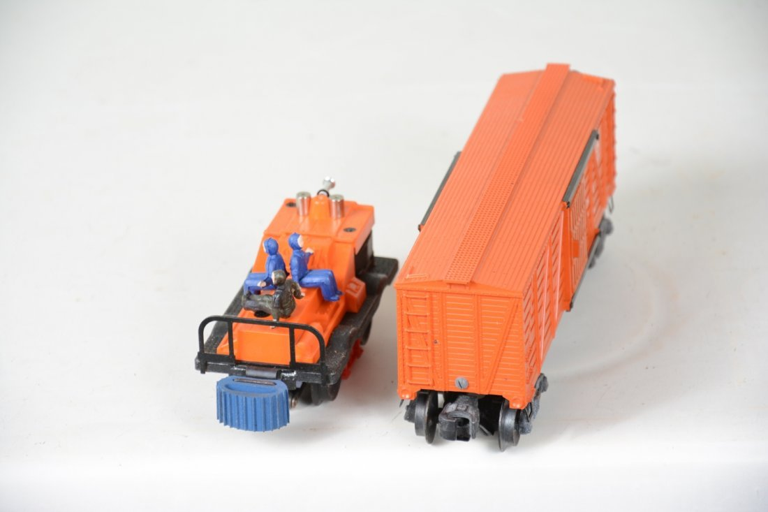 Clean Boxed Lionel 3656 & 50 - 4