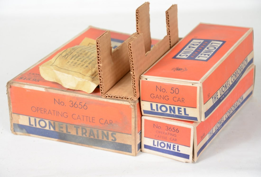 Clean Boxed Lionel 3656 & 50 - 5