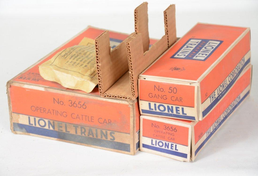 Clean Boxed Lionel 3656 & 50 - 5