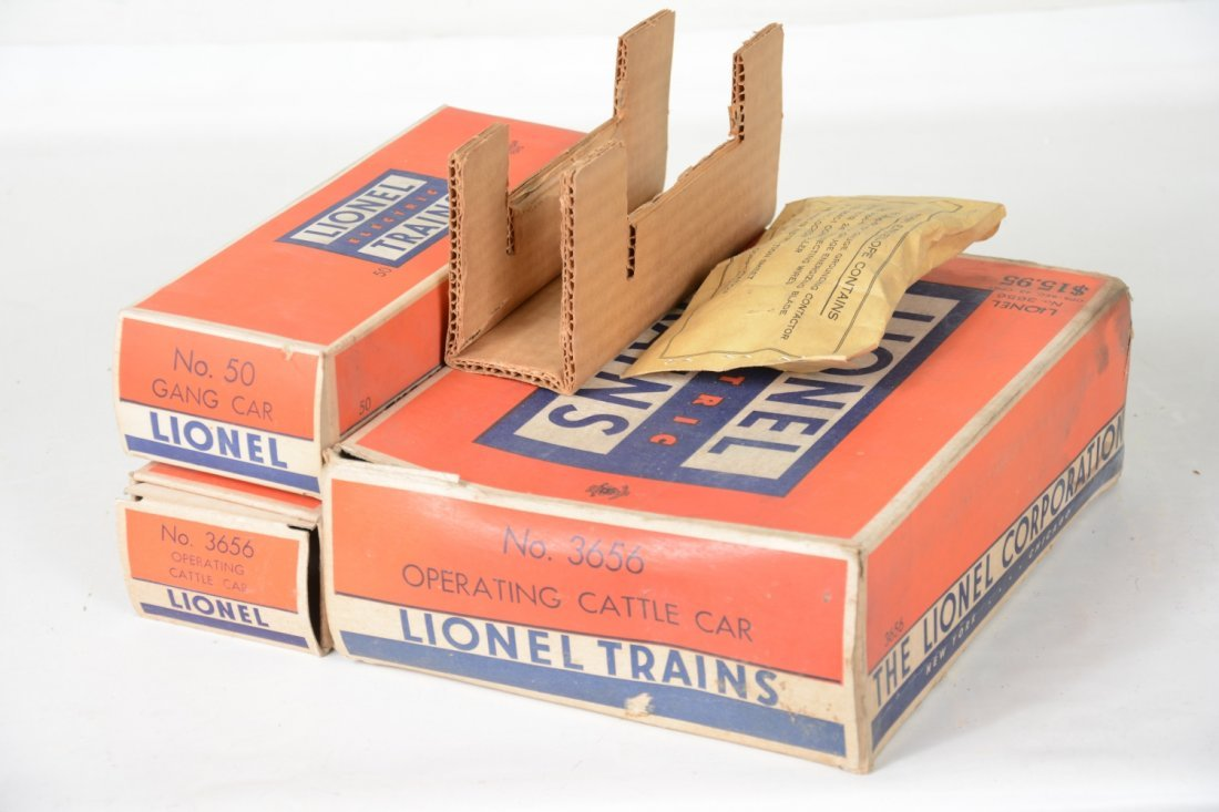 Clean Boxed Lionel 3656 & 50 - 6