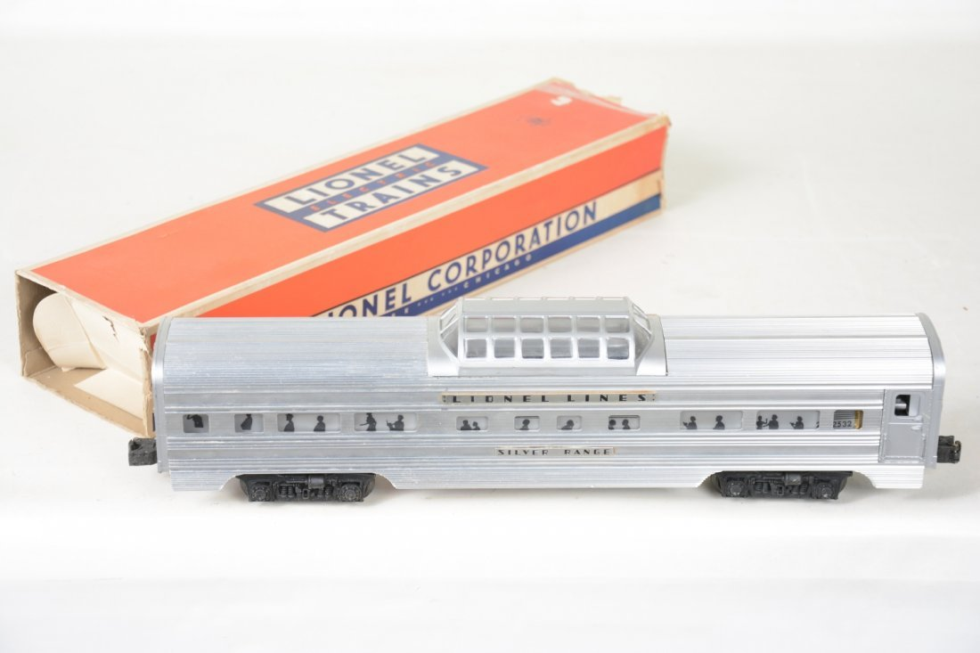 Nice Boxed Lionel 2532 Flat Channel Vista