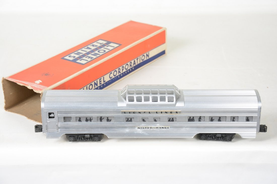 Nice Boxed Lionel 2532 Flat Channel Vista - 2