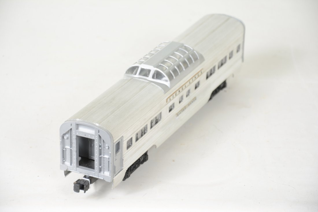 Nice Boxed Lionel 2532 Flat Channel Vista - 3
