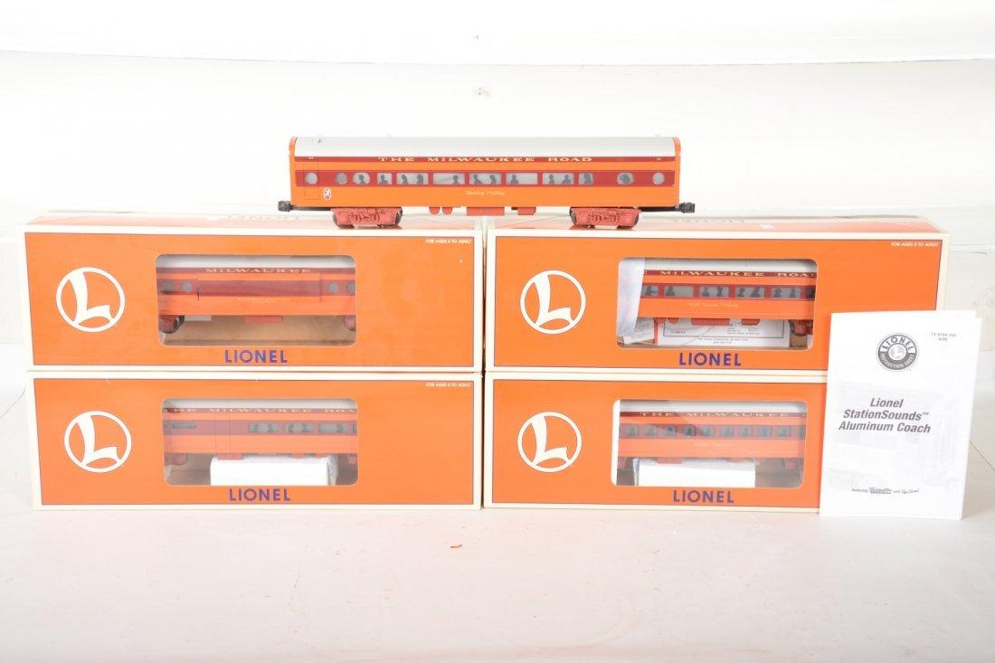 Lionel MR Streamline Passenger Cars