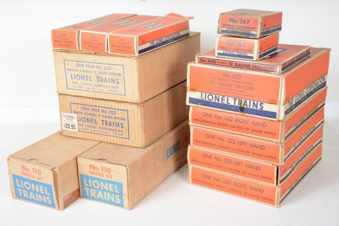 Boxed Lionel Track & Accessory Lot - 2
