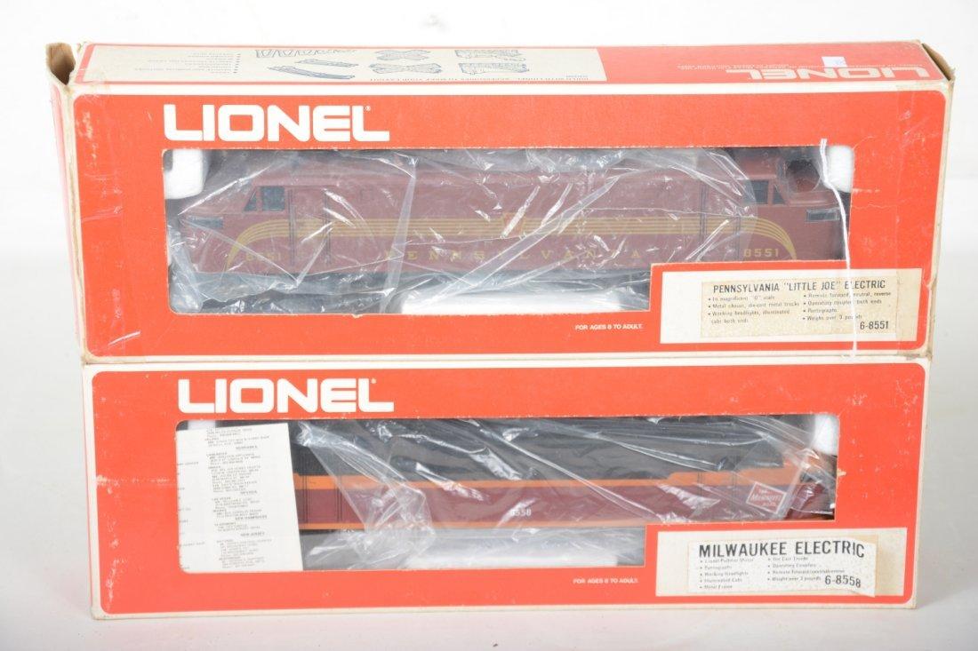 2 Lionel MPC EP5 Electric Locos