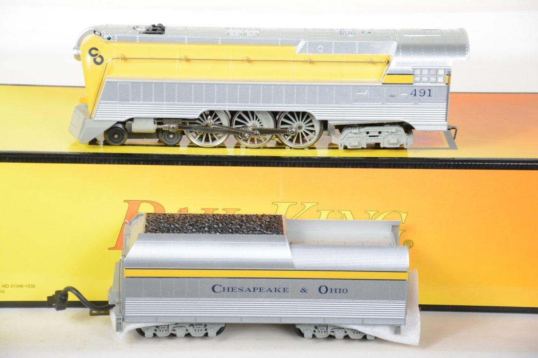 MTH RailKing 30-1161-1 C&O Streamline Hudson
