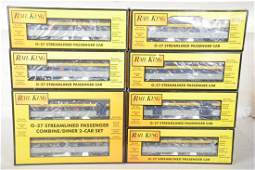MTH RailKing CO Streamline Cars
