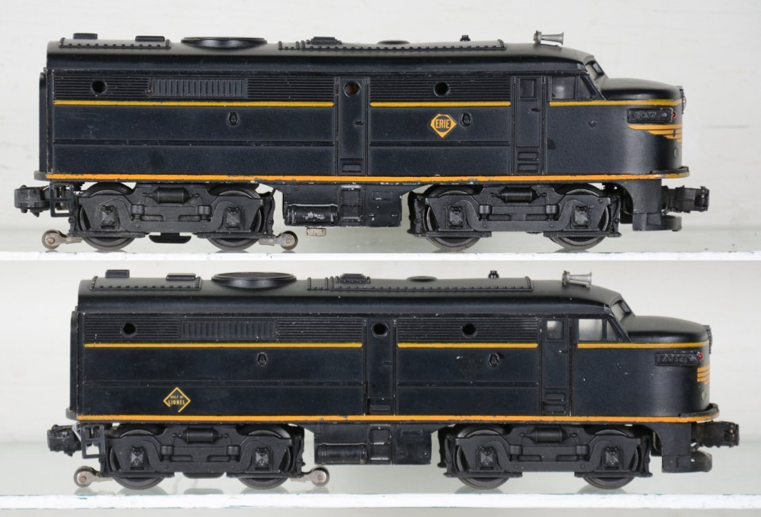 Clean Lionel 2032 Erie Alco AA Diesels