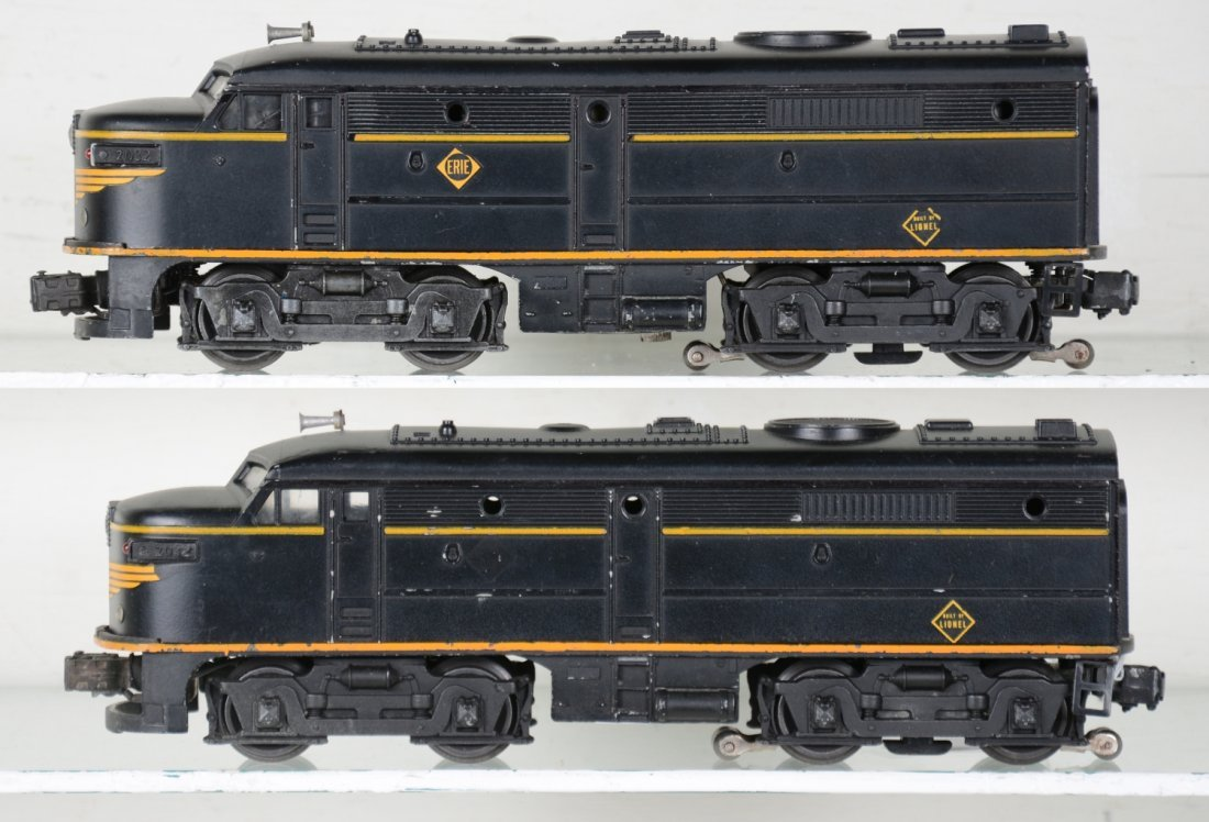 Clean Lionel 2032 Erie Alco AA Diesels - 2
