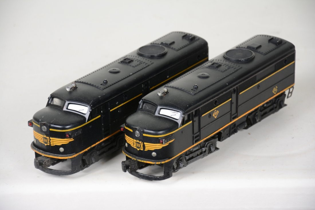 Clean Lionel 2032 Erie Alco AA Diesels - 3