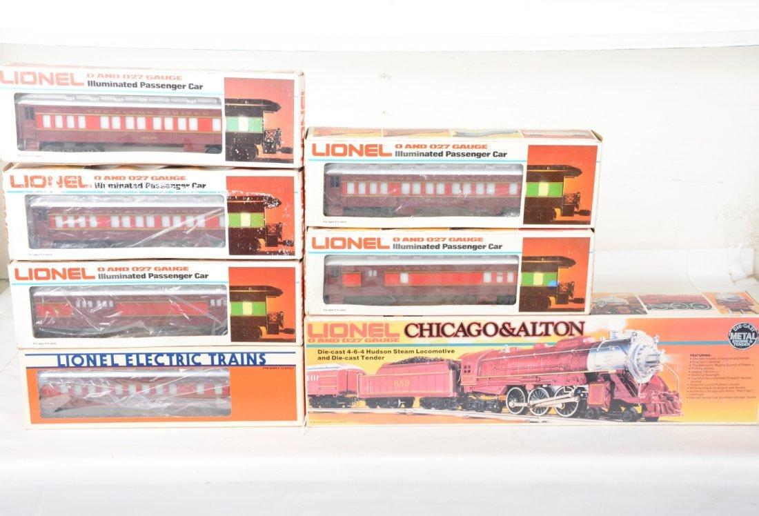 Lionel MPC C&A Steam Passenger Set