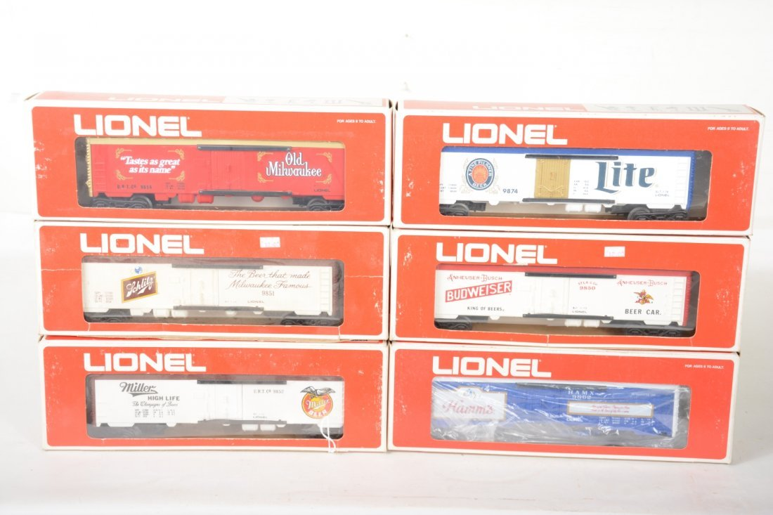Lionel MPC Beer Reefers