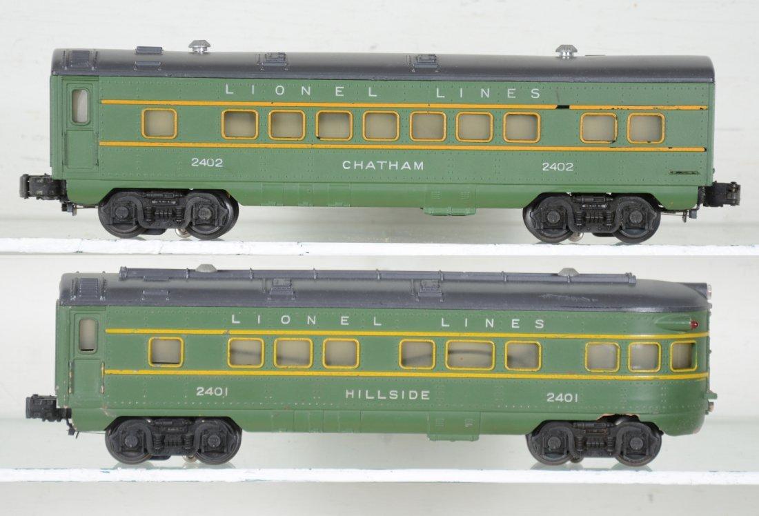 Boxed Lionel 2402 & 2401 Passenger Cars - 4