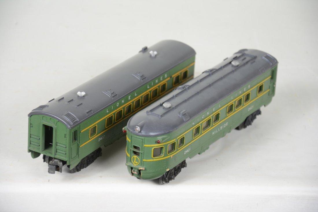 Boxed Lionel 2402 & 2401 Passenger Cars - 5
