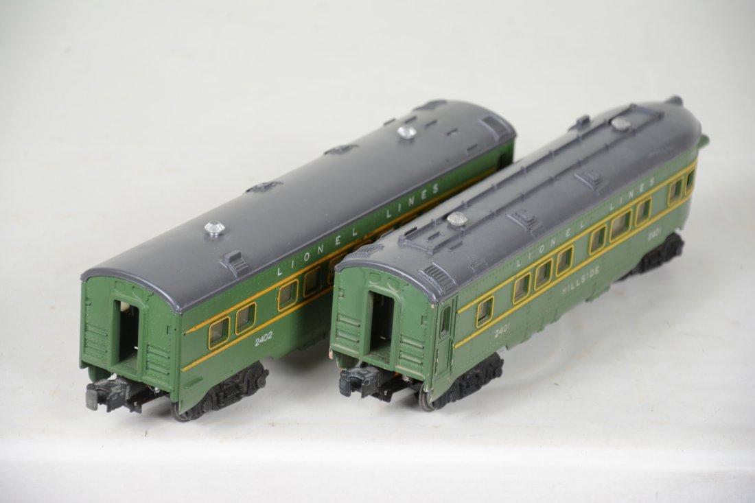Boxed Lionel 2402 & 2401 Passenger Cars - 6