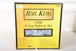 MTH RailKing 3021221 1970 Subway Set