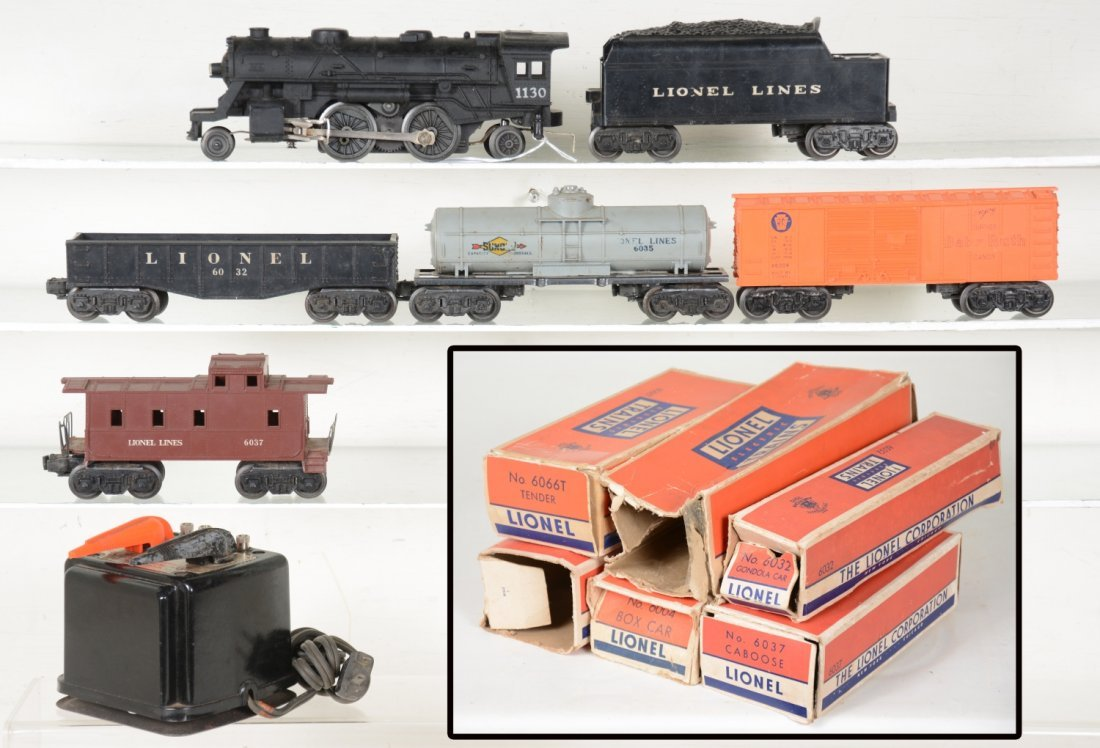Boxed Lionel 1130 Steam Freight Set
