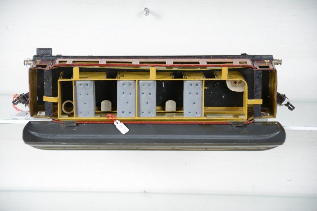33cm Marklin 1886/1 Mitropa Sleeper with Interior - 5