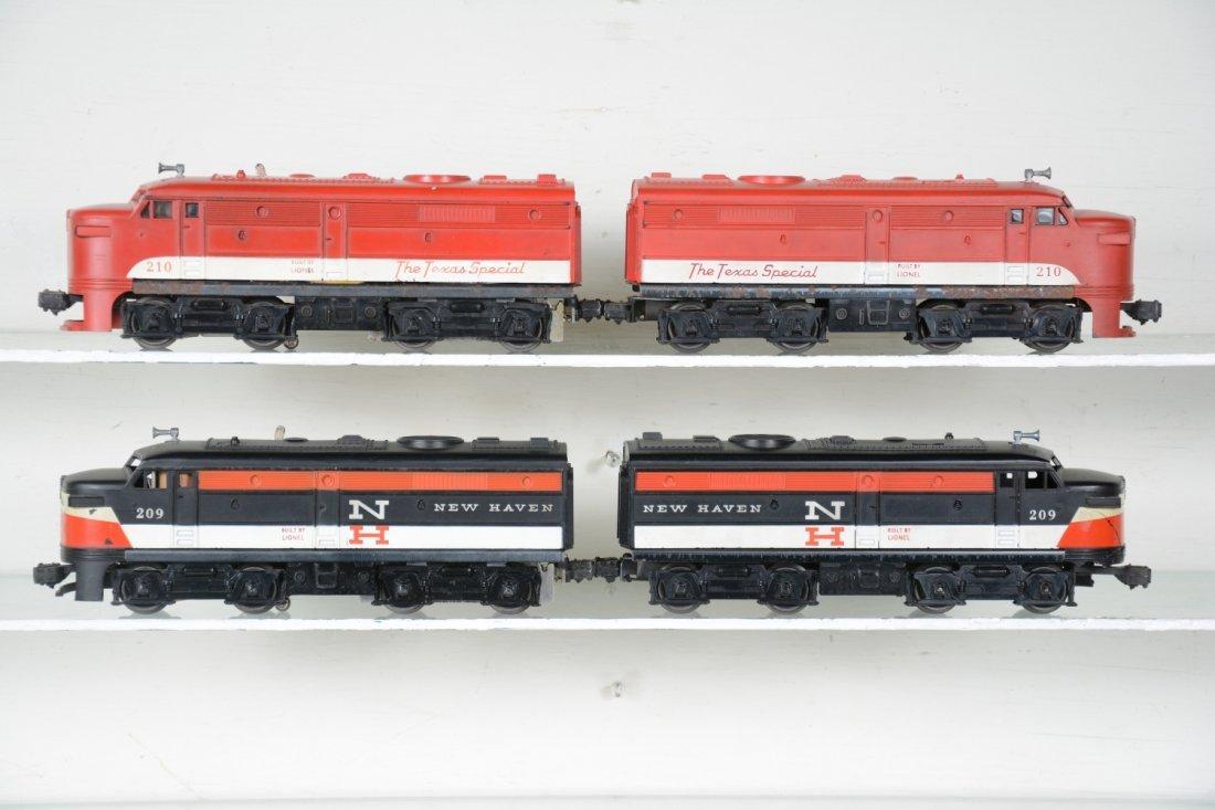 Lionel 209 & 210 Alco Diesel Sets