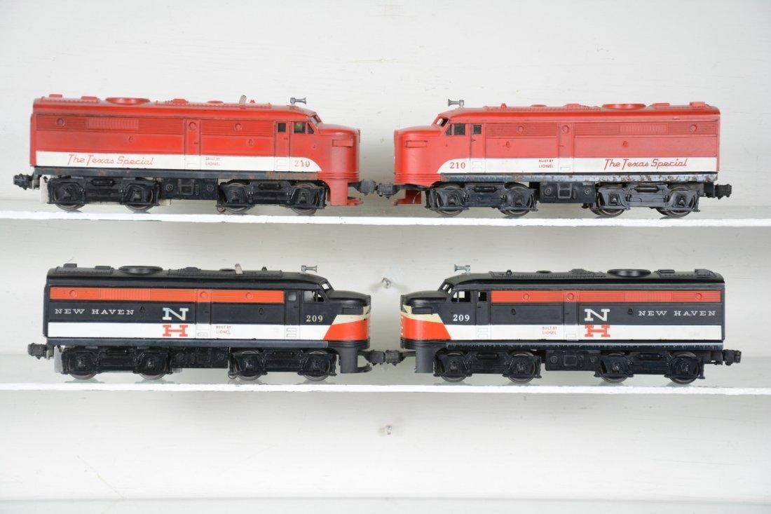 Lionel 209 & 210 Alco Diesel Sets - 2