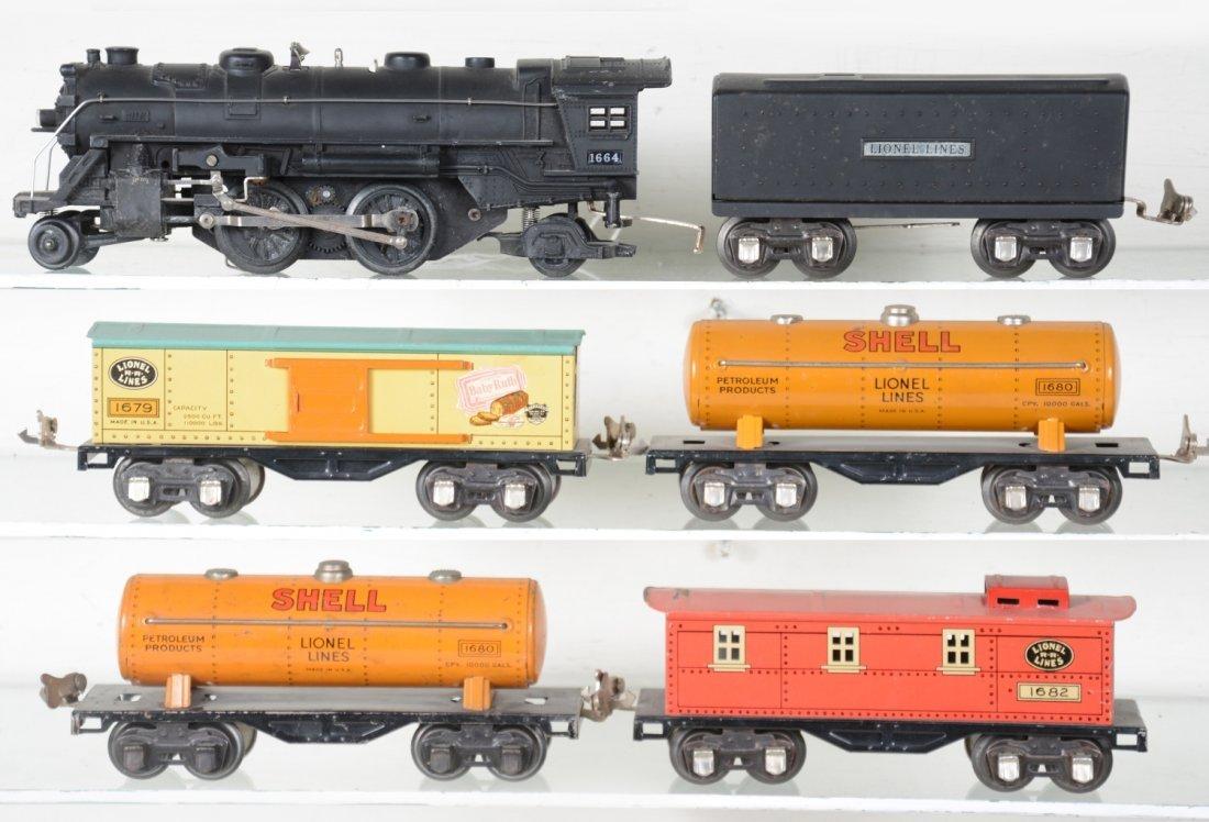 Lionel 1664 Steam Freight Set