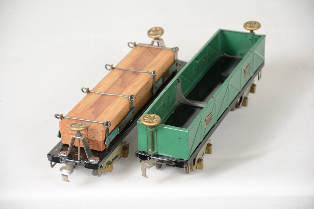2 Clean Boxed American Flyer O Freight Cars - 4