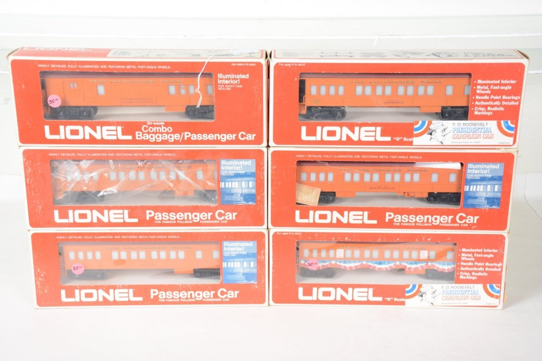 Lionel MPC Milwaukee RD Passenger Cars