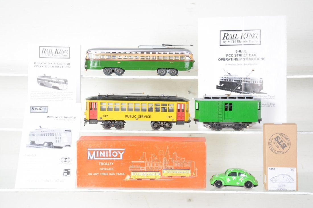 Assorted Train Motorized Units - 2