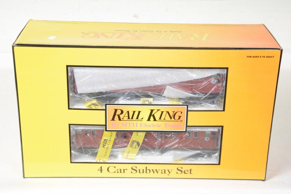MTH RailKing 30-2198-1 MTA R21 Subway set