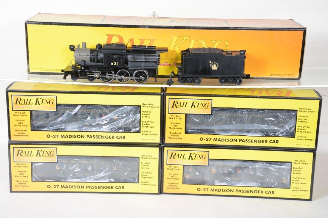 MTH RailKing JC Steam Passenger Set