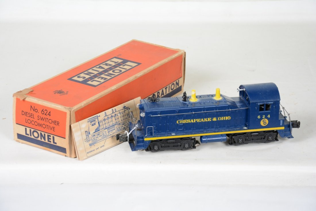 Nice Boxed Lionel; 624 C&O NW-2 Diesel