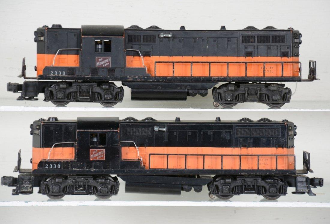2 Lionel 2338 MR GP-7 Diesels