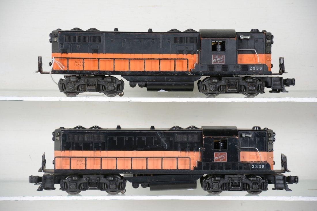 2 Lionel 2338 MR GP-7 Diesels - 2