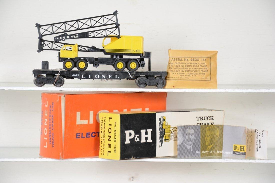 NMINT Boxed Lionel 6828 P&H Crane