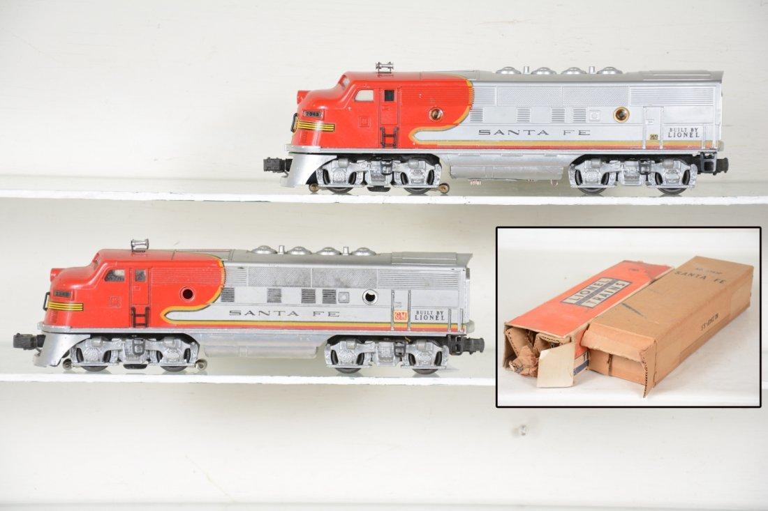 Clean Boxed Lionel 2343 SF F3 AA Diesels
