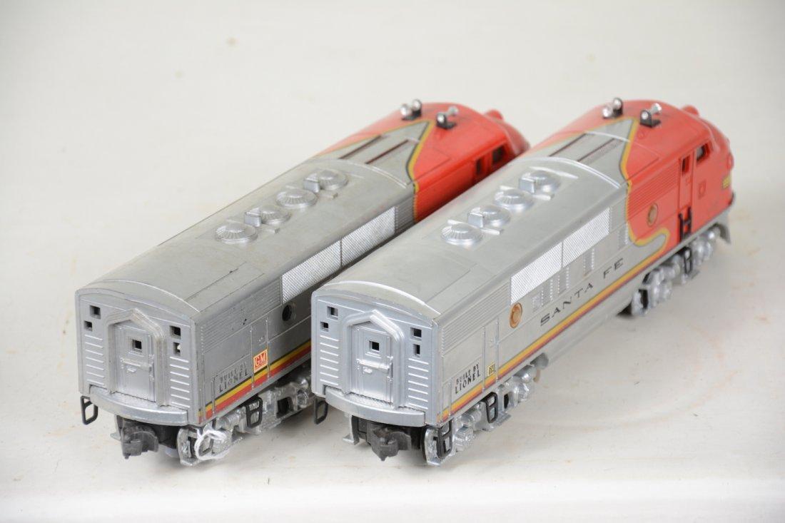 Clean Boxed Lionel 2343 SF F3 AA Diesels - 6