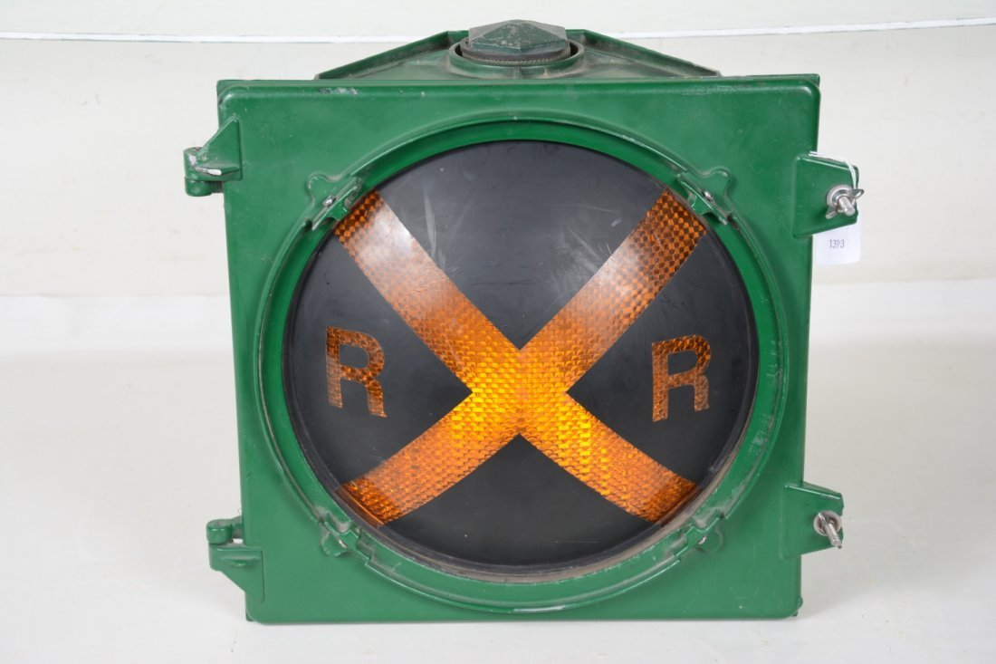 Safetran RailRoad Crossing Light