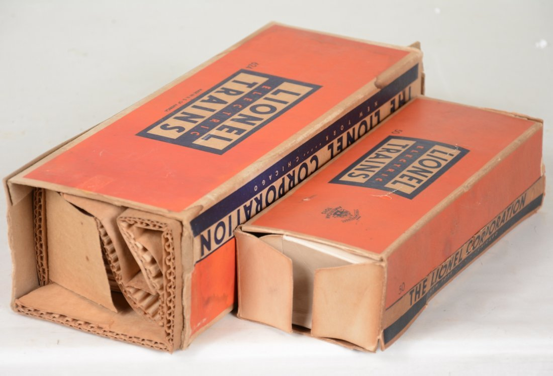 Boxed Lionel 50 & 624 Powered Units - 2