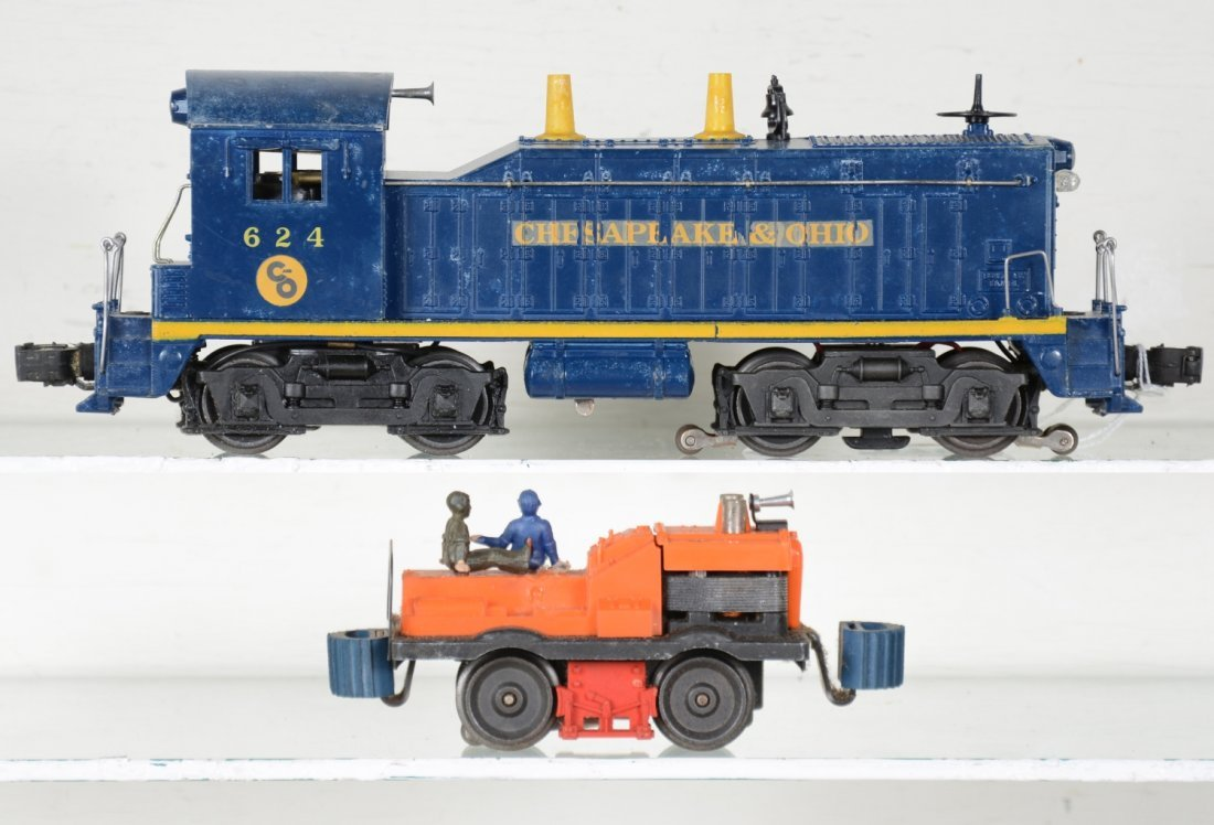 Boxed Lionel 50 & 624 Powered Units - 3