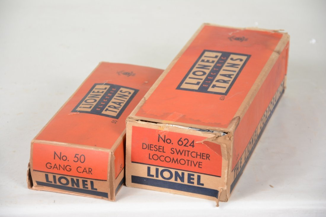 Boxed Lionel 50 & 624 Powered Units - 4