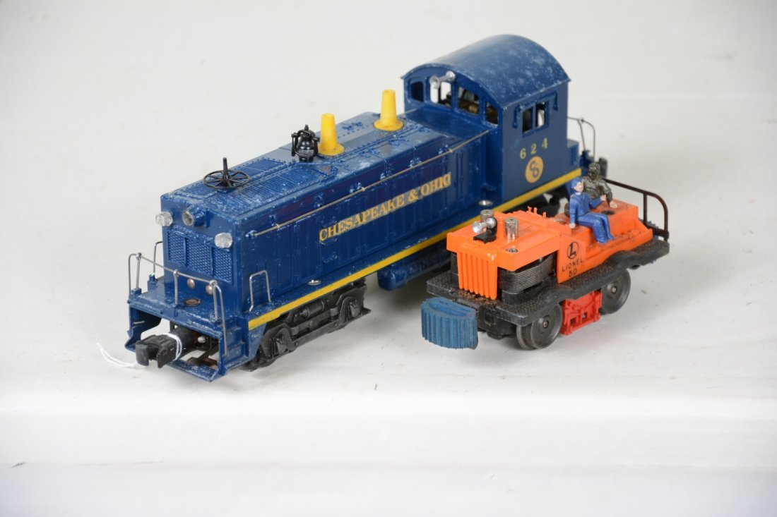 Boxed Lionel 50 & 624 Powered Units - 5