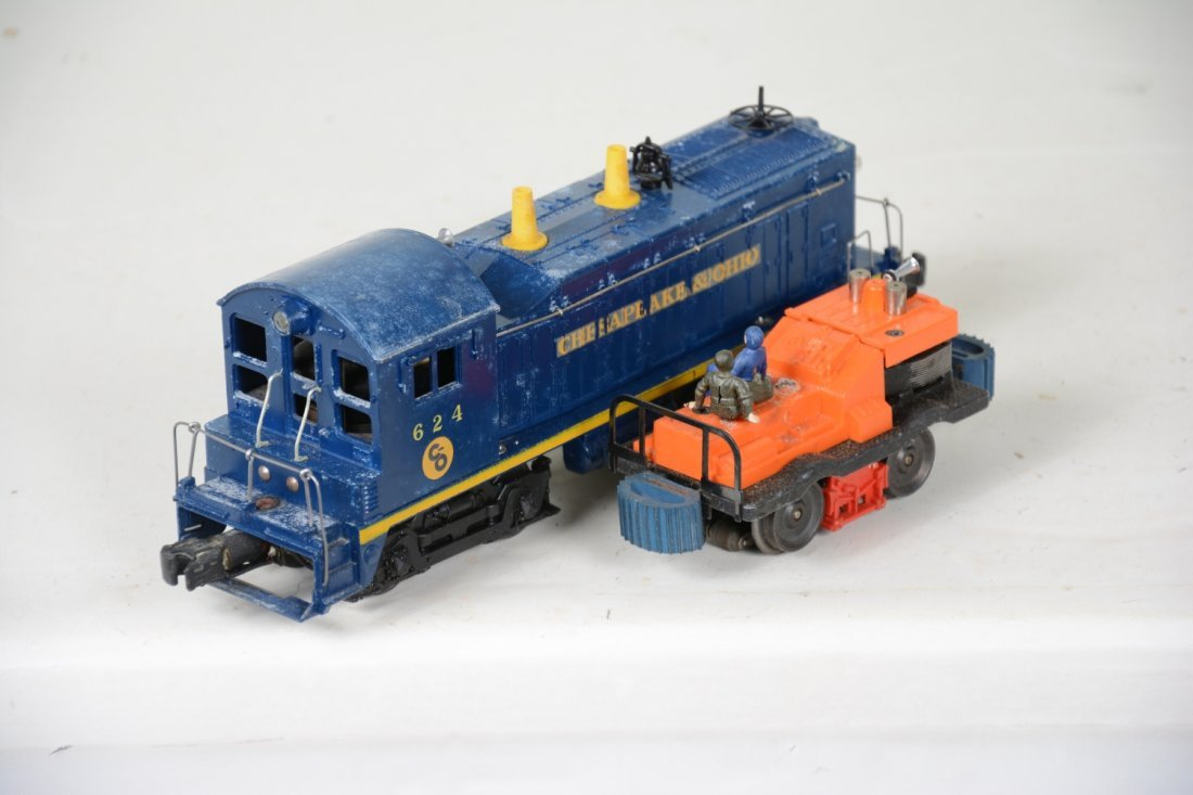 Boxed Lionel 50 & 624 Powered Units - 6