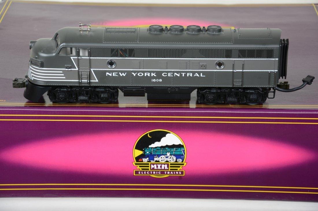 MTH 20-2179-1 NYC F3 ABA Diesels