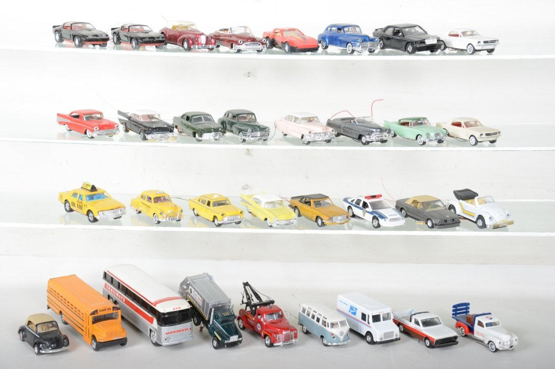 30+ Ron Zweig Layout Vehicles, Custom Lighted
