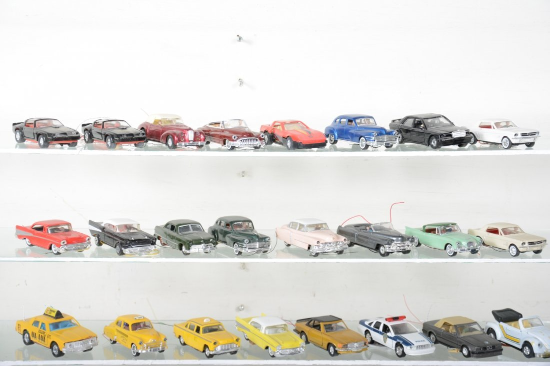 30+ Ron Zweig Layout Vehicles, Custom Lighted - 2