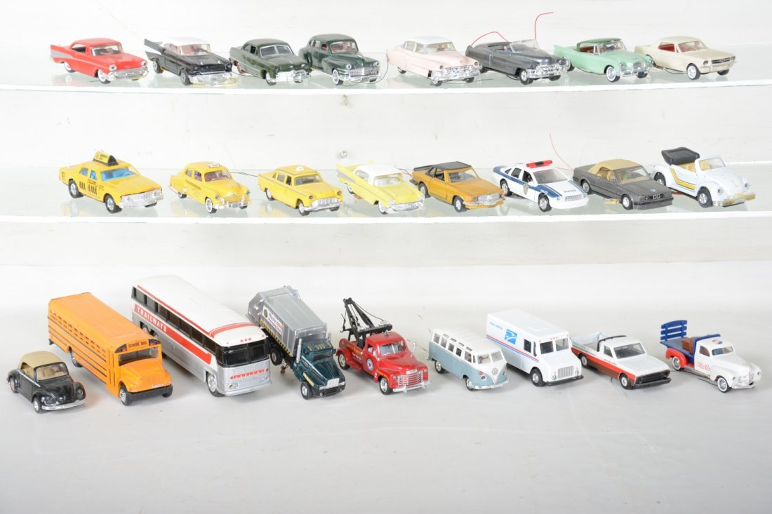 30+ Ron Zweig Layout Vehicles, Custom Lighted - 3