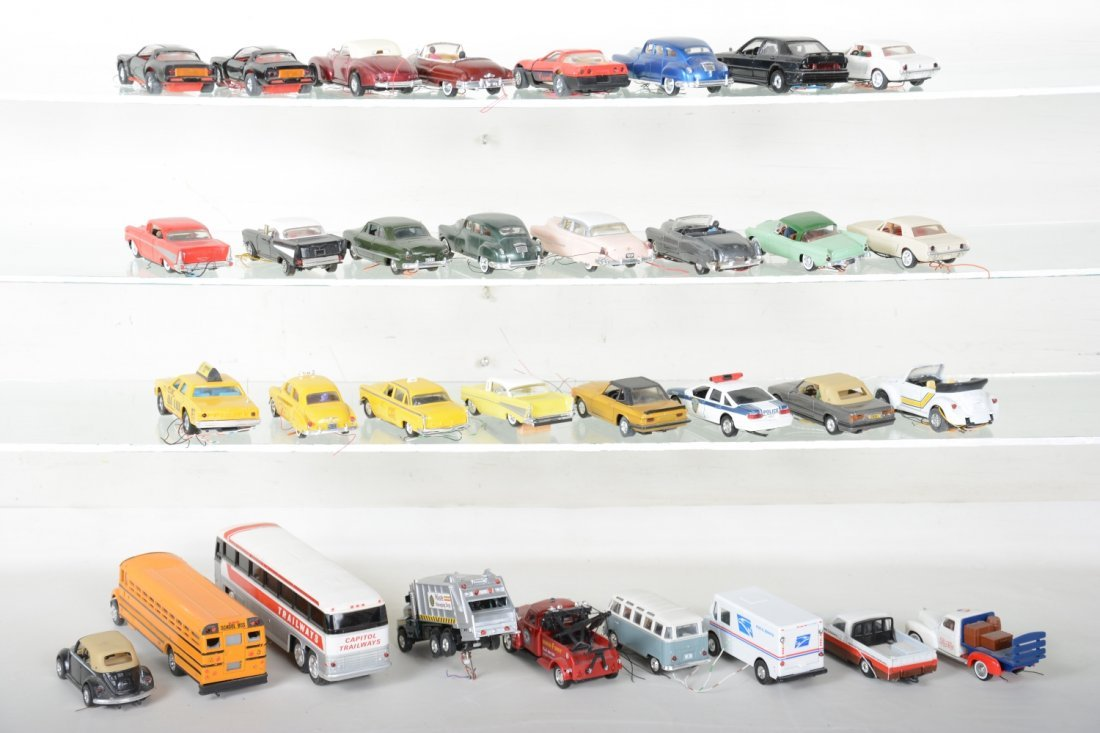 30+ Ron Zweig Layout Vehicles, Custom Lighted - 4