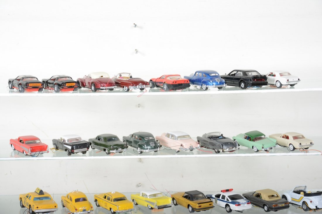 30+ Ron Zweig Layout Vehicles, Custom Lighted - 5
